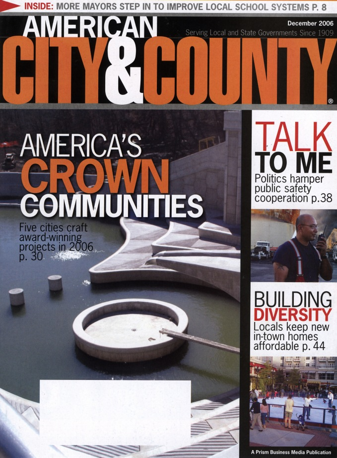 American City & County Mag Cover ONLY