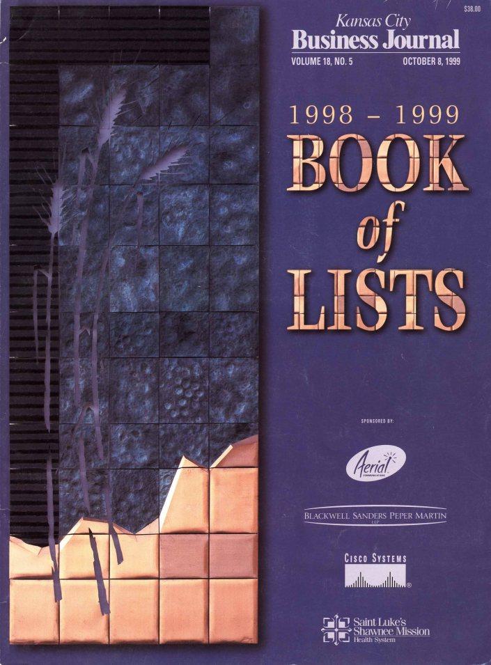 KC Business Journal - Book of Lists 1999