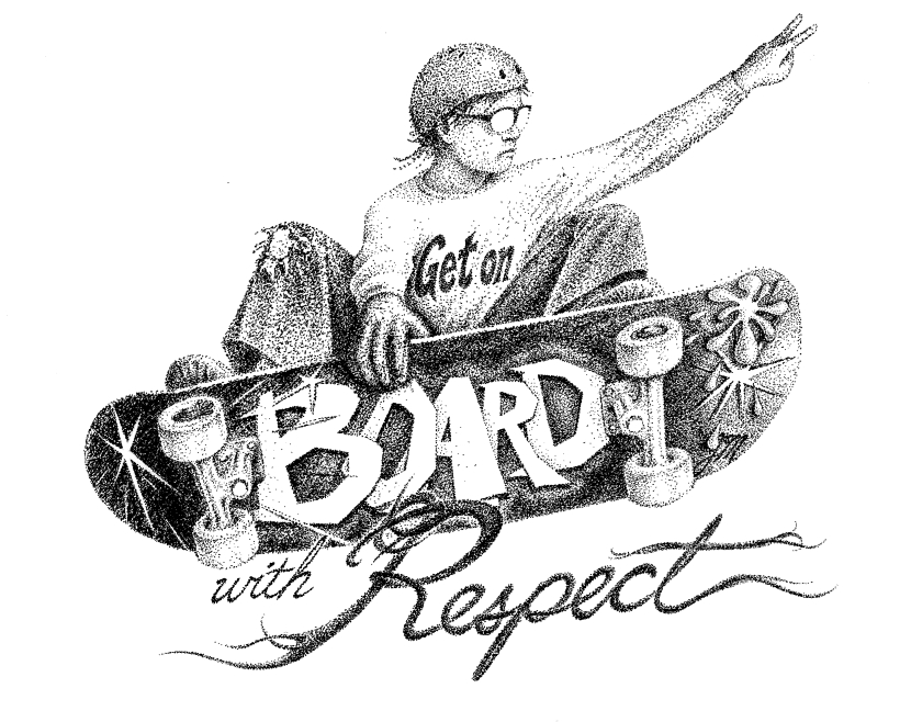 RP Skateboard Park Respect Sign cropped